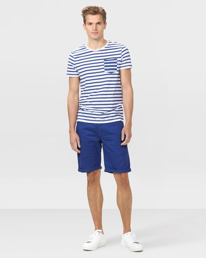 HERREN-REGULAR-FIT-CHINO-SHORTS Blau