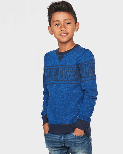 BLUE RIDGE JUNGEN-SWEATSHIRT Blau