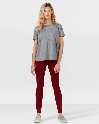 DAMEN-SUPER-SKINNY-FIT-HOSE MIT SOFT-TOUCH Safranrot