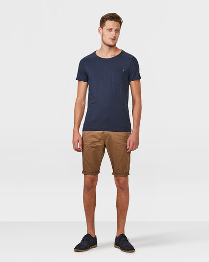 HERREN-REGULAR-FIT-CHINO-SHORTS Zimtbraun