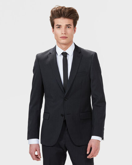 SLIM FIT HERRENBLAZER NOS Anthrazit