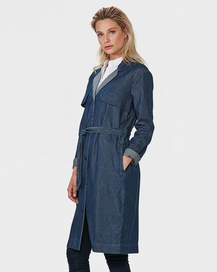 BLUE RIDGE DAMEN-TRENCHCOAT Dunkelblau