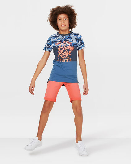 JUNGEN-REGULAR-FIT-SHORTS Knallorange