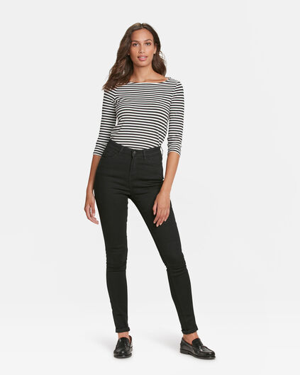 DAMEN-HIGH-RISE-SKINNY-RECOVERY-JEANS Schwarz