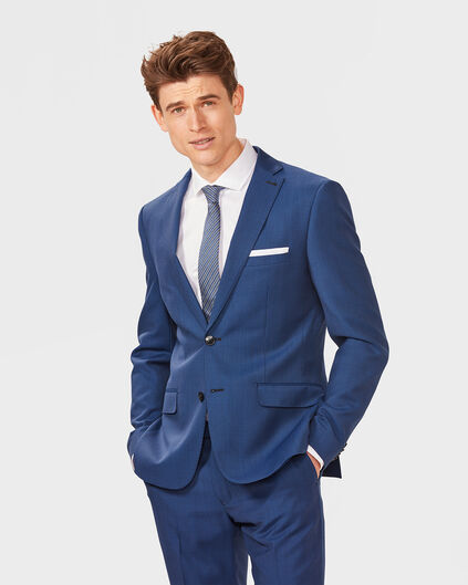 HERREN-ULTRA-SLIM-FIT-BLAZER CLAUDE Blau