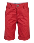 JUNGEN-REGULAR-FIT-GARMENT-DYE-CHINO-SHORTS_JUNGEN-REGULAR-FIT-GARMENT-DYE-CHINO-SHORTS, Rot