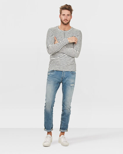 HERREN-SLIM-TAPERED-SUPER-STRETCH-JEANS Hellblau