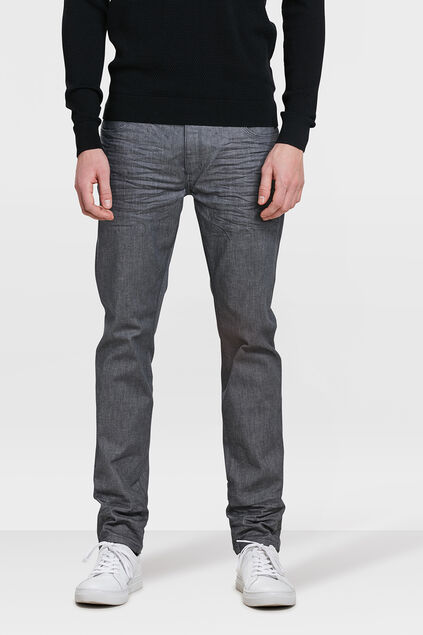 HERREN-SKINNY-FIT--SUPER-STRETCH -JEANS Grau