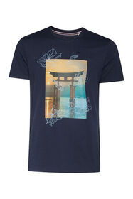 Blue Ridge Herren-T-Shirt_Blue Ridge Herren-T-Shirt, Marineblau