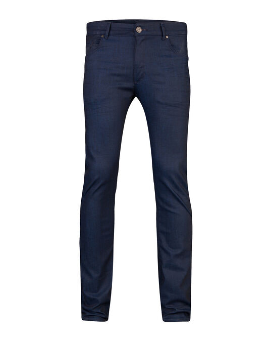 Herren-Skinny-Fit-Super-Stretch-Jeans Blau