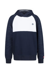 Jungen-Sweatshirt in Colourblock-Optik_Jungen-Sweatshirt in Colourblock-Optik, Marineblau