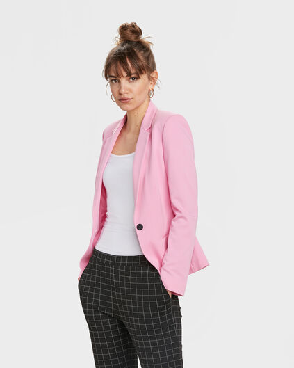 DAMEN-SLIM-FIT-BLAZER Hellrosa