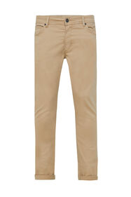 Herren-Slim-Fit-Hose mit Tapered Leg_Herren-Slim-Fit-Hose mit Tapered Leg, Beige