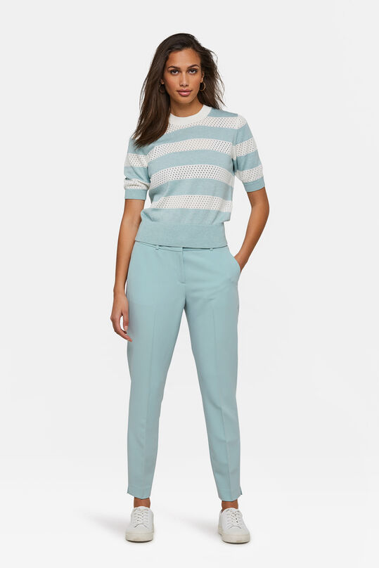 DAMEN-SLIM-FIT-HOSE Pastellblau