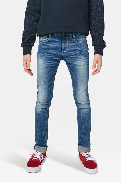 Jungen-Ultra-Superskinny-Jeans Blau