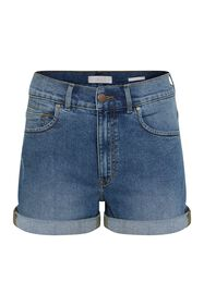 Damen-Shorts im Mom-Fit_Damen-Shorts im Mom-Fit, Dunkelblau