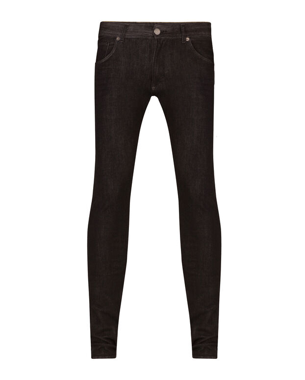 HERREN-SUPERSKINNY-TAPERED-SUPER-STRETCH-JEANS Schwarz