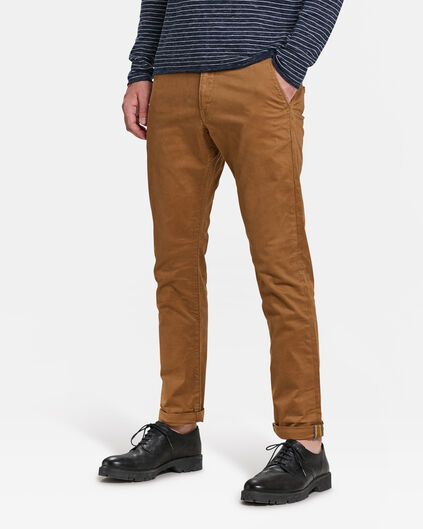 HERREN-SLIM-FIT-CHINO MIT TAPERED LEG Braun