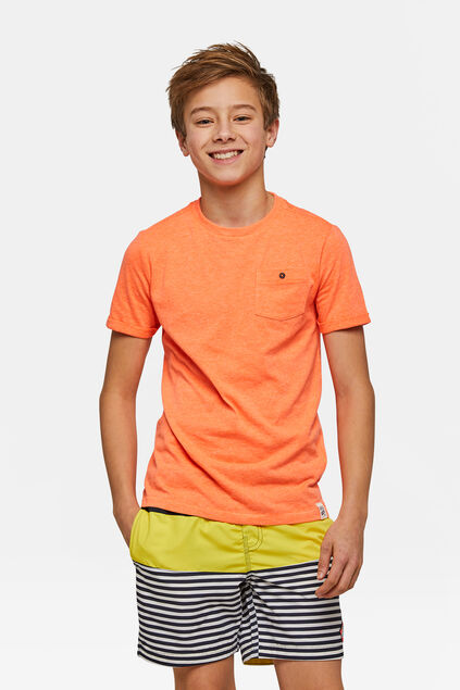Jungen-Badeshorts in Colourblock-Optik Gelb
