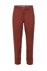 Damenhose mit hoher Taille_Damenhose mit hoher Taille, Weinrot