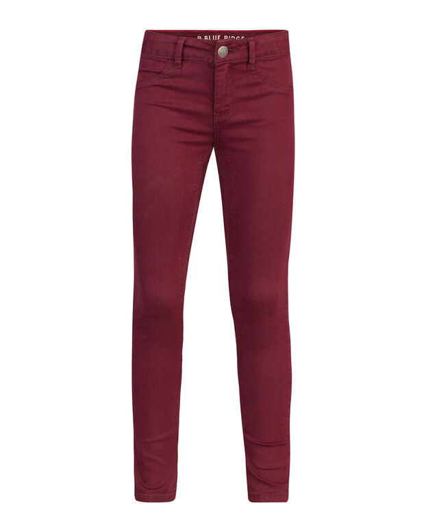 MÄDCHEN-SUPERSKINNY-POWER-STRETCH-JEGGINGS Rot