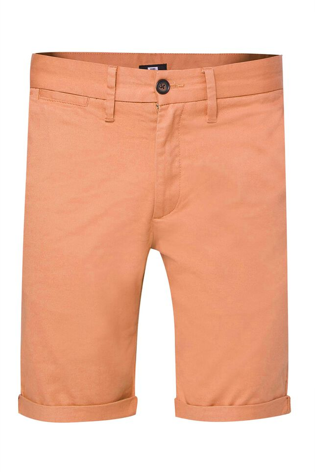 Herren-Slim-Fit-Chinoshorts Orange