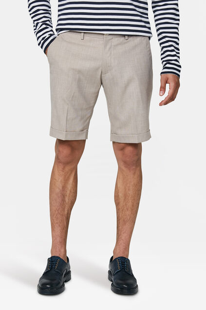 Herren-Slim-Fit-Shorts Dali Beige