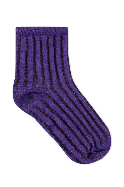 Damensocken Lila