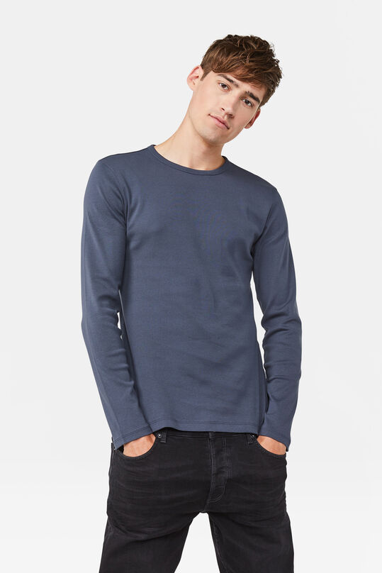 ESSENTIAL SHIRT Graublau