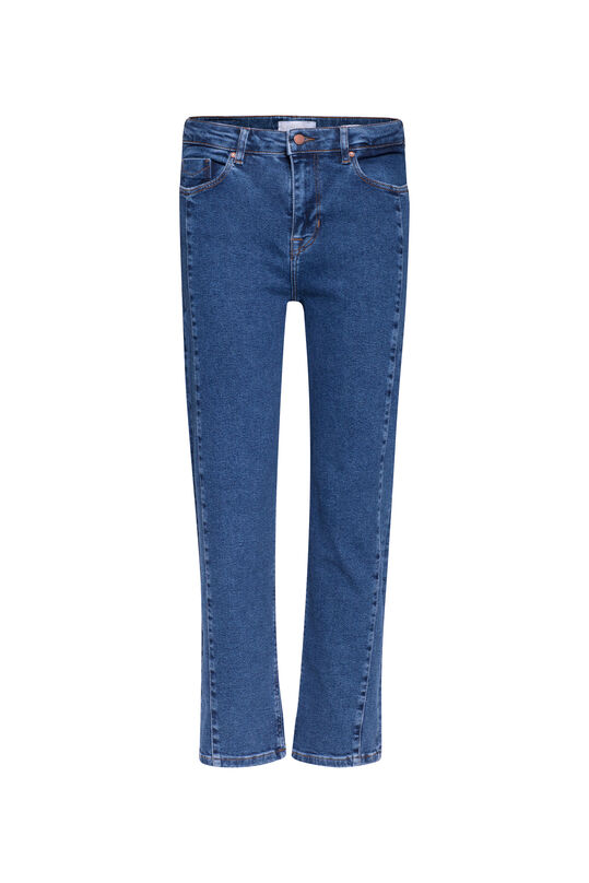 Damen-Regular-Fit-Jeans Dunkelblau