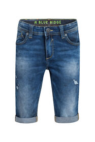 Jungen-Jog-Denim-Shorts mit Slim-Fit-Passform_Jungen-Jog-Denim-Shorts mit Slim-Fit-Passform, Dunkelblau