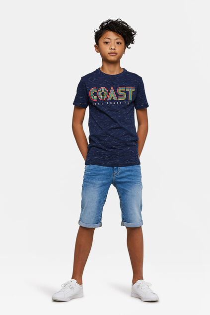 Jungen-Jog-Denim-Shorts mit Slim-Fit-Passform Blau