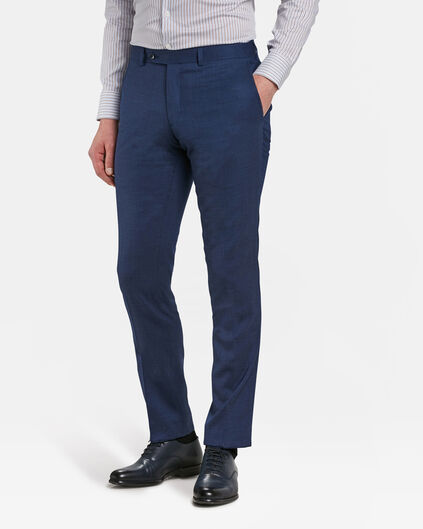 HERREN-SLIM-FIT-ANZUGHOSE BRANDENTOWN Marineblau