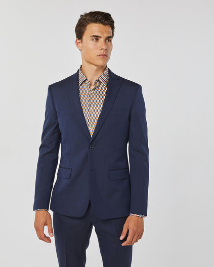 HERREN-SLIM-FIT-SAKKO TOM Marineblau