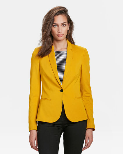 DAMEN-SLIM-FIT-BLAZER Gelb