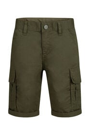 Jungen-Regular-Fit-Shorts_Jungen-Regular-Fit-Shorts, Dunkelgrün