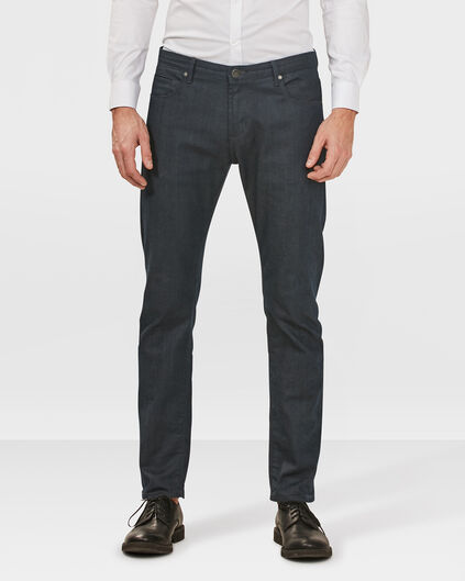 HERREN-SLIM-TAPERED-COMFORT-STRETCH-JEANS Blau