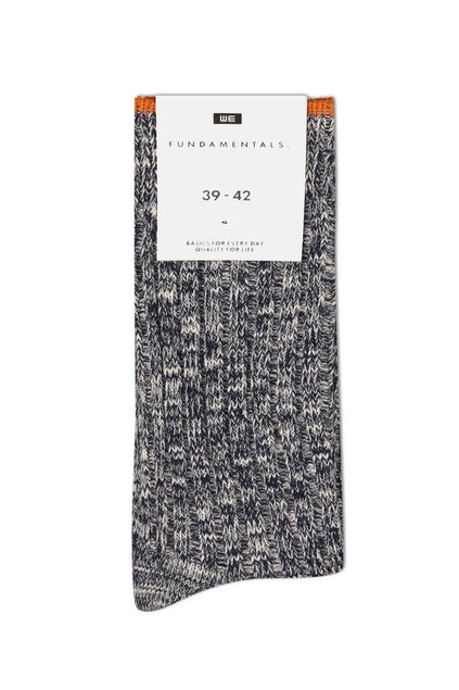 Damen-Stricksocken Blau