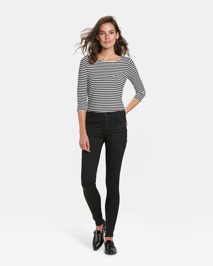 DAMEN-MID-RISE-SUPERSKINNY-HIGH-STRETCH-JEANS Schwarz