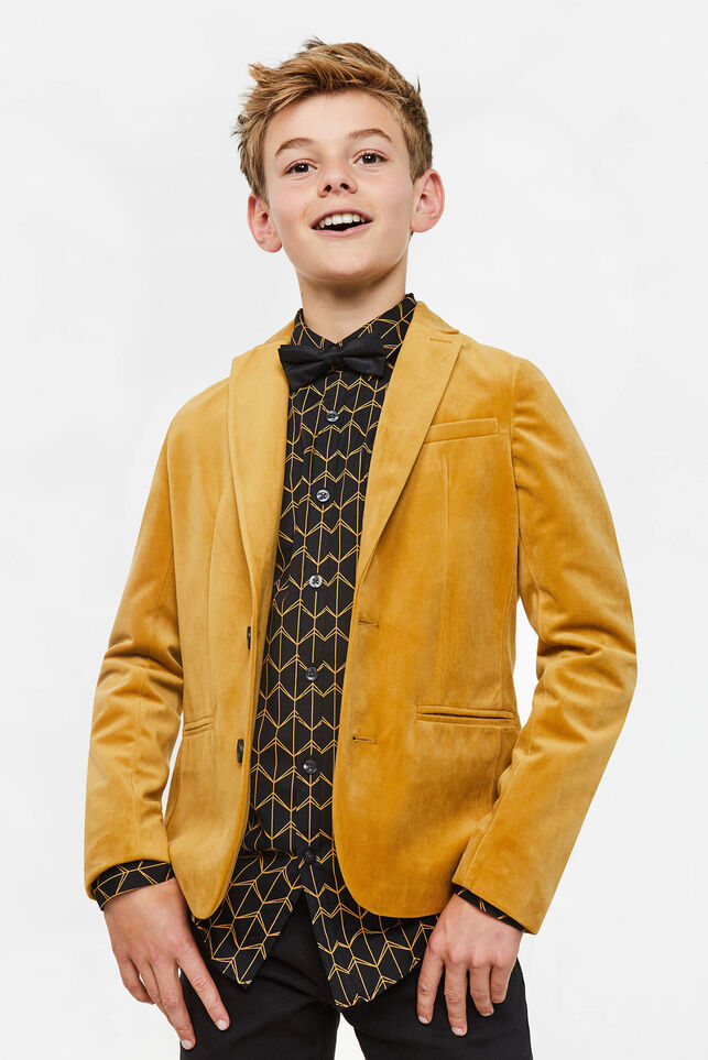 Jungen-Regular-Fit-Sakko Gold