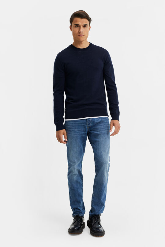 Herren-Slim-Fit-Jeans mit Super-Stretch Blau
