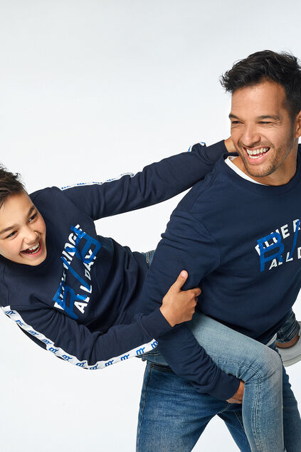 "Mini me: Sweatshirt ""Blue Ridge"""