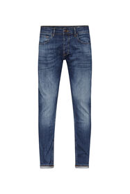 Herren-Slim -Fit-Jeans aus Comfort-Stretch-Denim_Herren-Slim -Fit-Jeans aus Comfort-Stretch-Denim, Blau