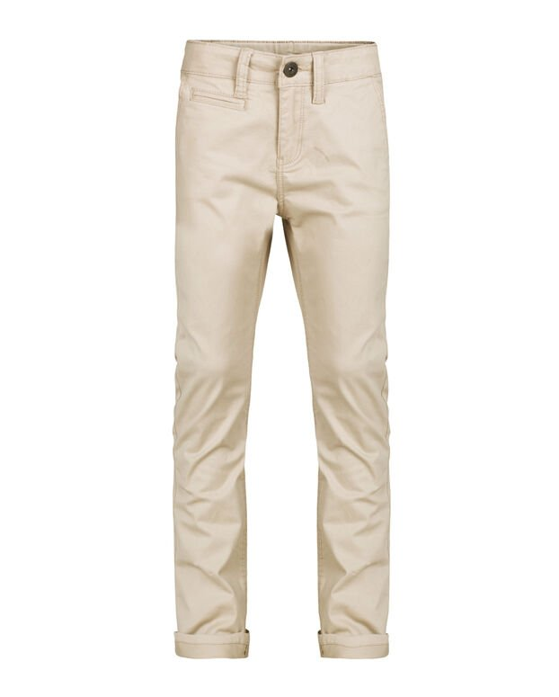 JUNGEN SLIM-FIT-CHINO IN GARMENT-DYE-OPTIK Beige