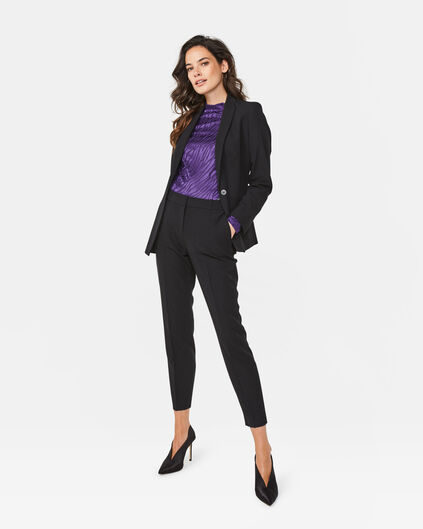 DAMEN-SLIM-FIT-HOSE Schwarz