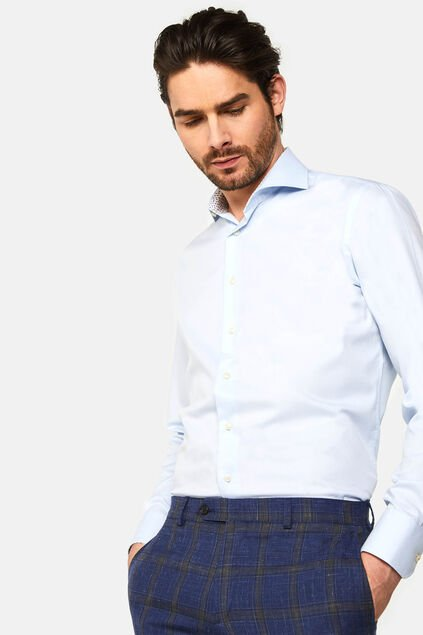 "Herren-Slim-Fit-Hemd ""Amadeo"" Hellblau"