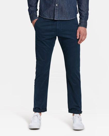 HERREN-SLIM-FIT-CHINO MIT TAPERED LEG Marineblau