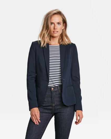 DAMEN-SLIM-FIT-BLAZER Dunkelblau