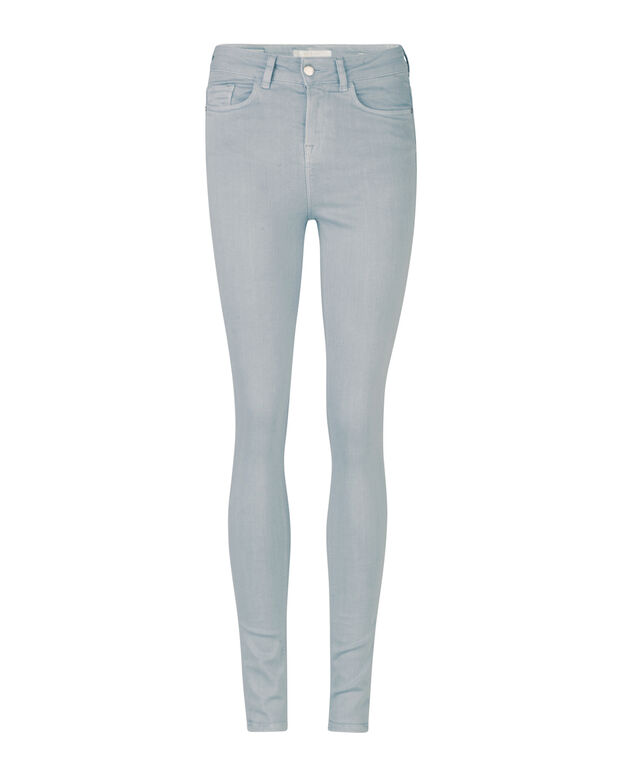 DAMEN-HIGH-RISE-SKINNY-HIGH-STRETCH-JEANS Hellgrau