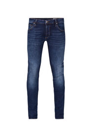 Herren-Stretch-Jeans mit Tapered Leg_Herren-Stretch-Jeans mit Tapered Leg, Dunkelblau